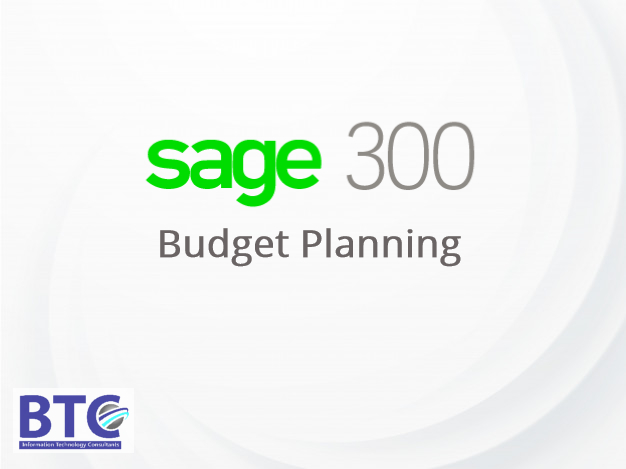 How To Plan A Budget With Sage 300 ERP?
