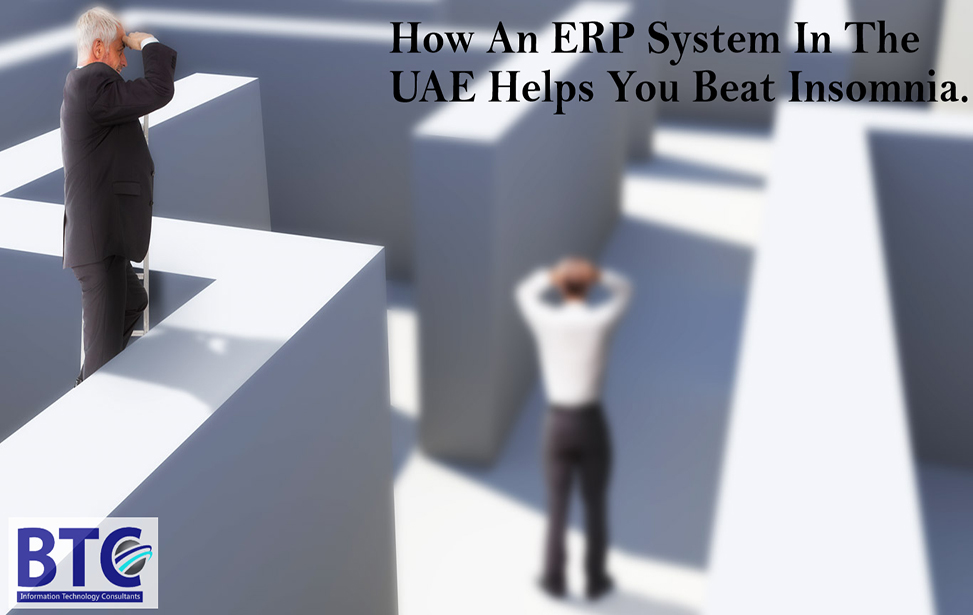 How An ERP System In The UAE Helps You Beat The Insomnia?