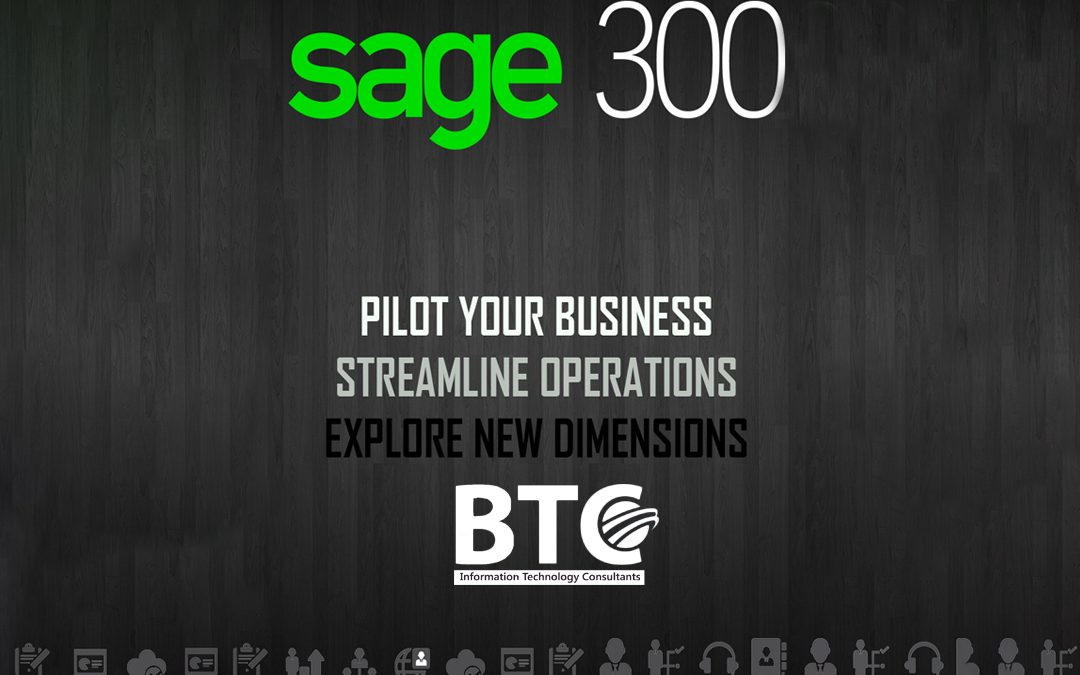 Sage 300 ERP In UAE – A Perfect Solution For Every Industry