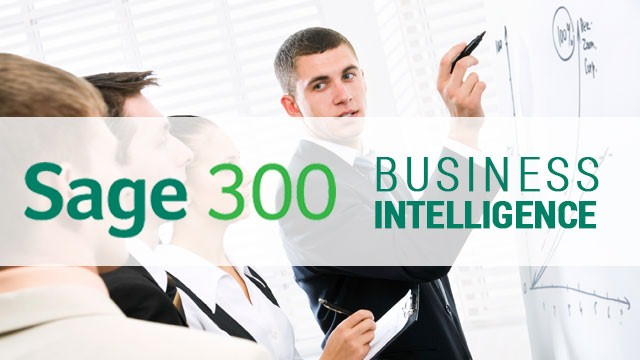 SAGE 300 Business Intelligence To Make Better Forecasting Decisions