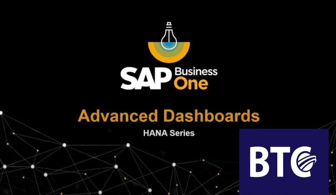 Creating an Advanced Dashboard in SAP Business One Version for SAP HANA