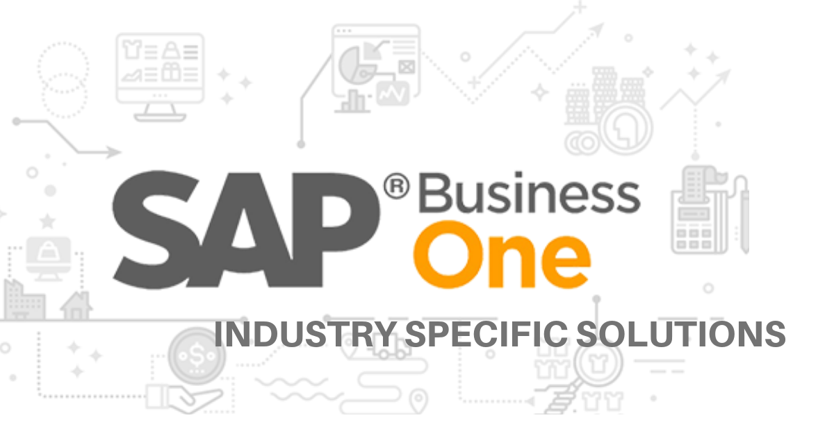 SAP B1 industry specific solutions
