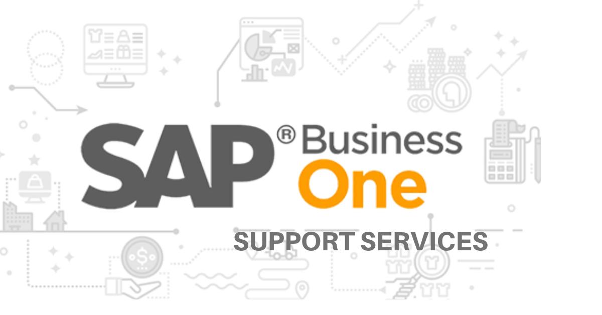 Support services sap b1 dubai