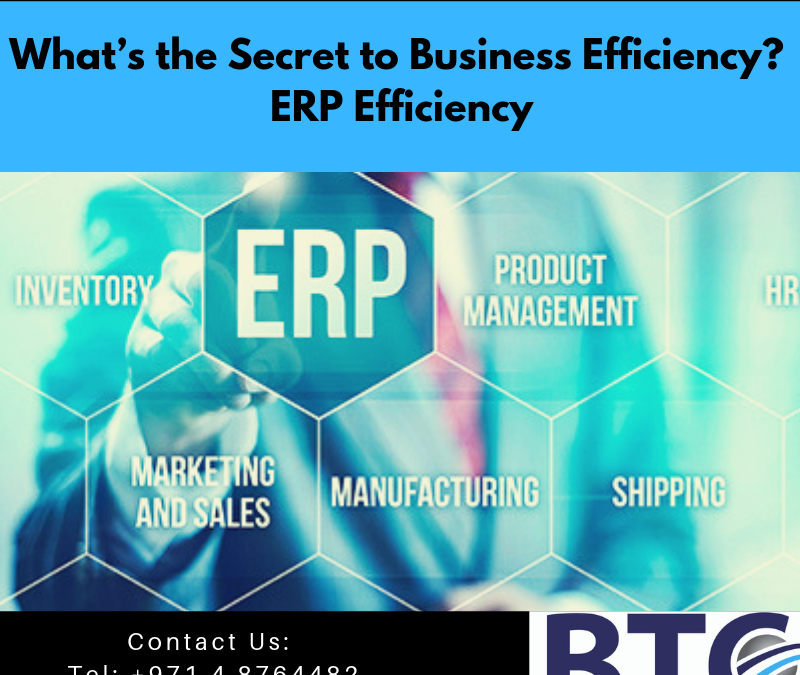 What's the Secret to Business Efficiency? ERP Efficiency