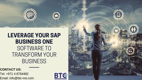 Leverage Your SAP Business One Software to Transform Your Business In Dubai