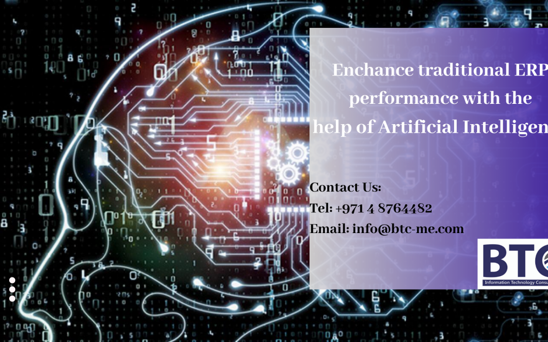 Enchance traditional ERP performance with the help of Artificial Intelligence in UAE
