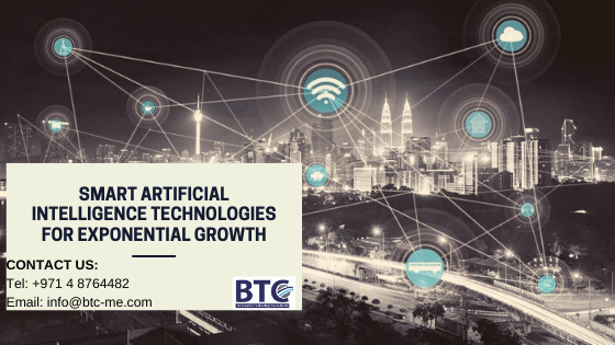 Smart Artificial Intelligence Technologies For Exponential Growth In Dubai