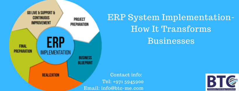 ERP System in UAE| ERP Implementation Qatar | ERP Consultant UAE and Qatar