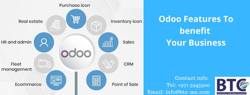 Odoo Features To benefit Your Business In UAE| Open source Qatar